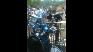 Best Street Drummer Ever!! - Oded Kafri in Preston Park, Brighton 2010