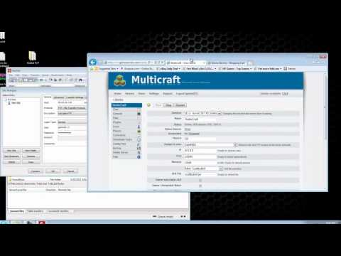 How to Use Multicraft Control Panel for Minecraft Server