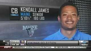 James Drafted By Vikings