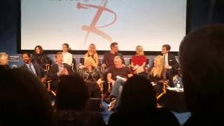 The Young and the Restless CBS Soap Opera Cast LIVE in Beverly Hills