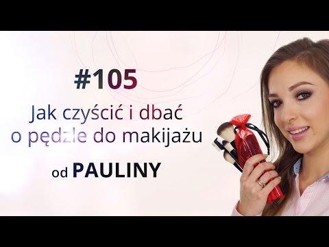Jak używać i pielęgnować pędzle do makijażu - porady Pauliny
