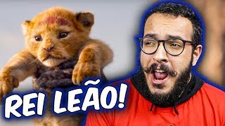 O NOVO FILME DO REI LEÃO!! - React + Análise do Trailer