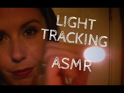 ASMR Light Tracking: Binaural Eye Exam for Sleep