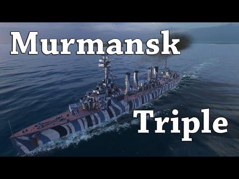 World of Warships: Murmansk Triple
