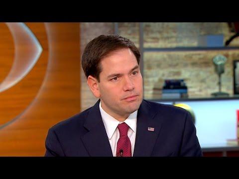 Sen. Marco Rubio on terror threat to U.S., absence of President Obama at Paris rally