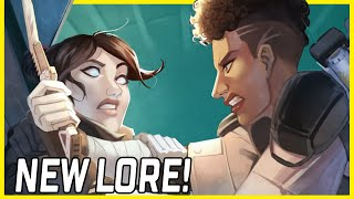 NEW APEX LEGENDS LORE VIDEO! Wraith & Bangalore Lore Video Reaction! What Is She Hiding?