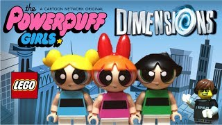 Lego Dimensions POWERPUFF GIRLS Minifigures Review!! Blossom Bubbles & Buttercup Fun Pack