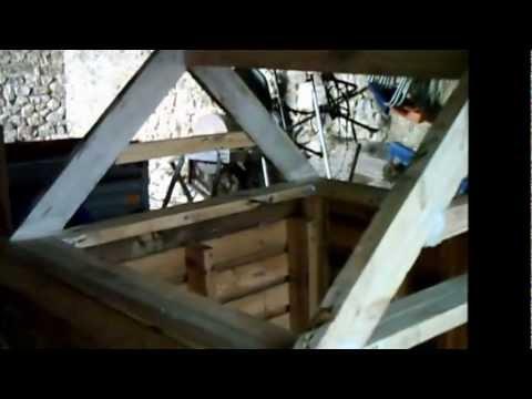 Fabrication d 39 une niche chien ou une cabanne pour les - Niche pour chien avec palette ...