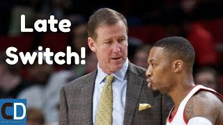 How The Blazers Late Switch To Defend The Pick & Pop