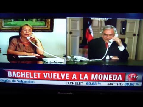 Chascarro de Piñera a Bachelet en