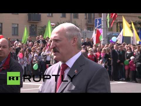 Belarus: Lukashenko proud to push forward Eurasian Economic Union