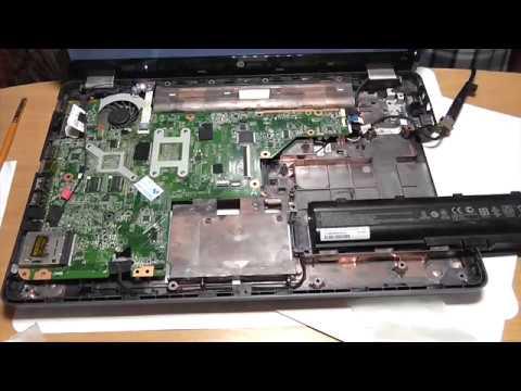 Ремонт ноутбука HP G62. Замена материнской платы.Материнская плата для ноутбука из Китая.