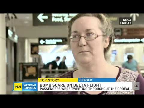 FBI question passengers after a bomb scare