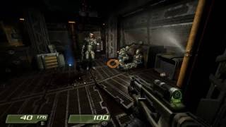 Quake 4: 01 - Air Defence Bunker