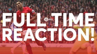 Manchester United Vs Crystal Palace  LIVE REVIEW FROM OLD TRAFFORD