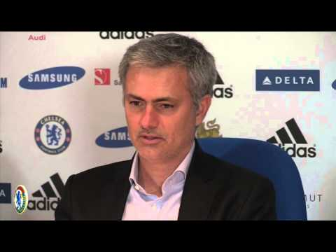 "Jose Mourinho on Samuel Eto'o  goal celebration ""Chelsea vs Tottenham"""