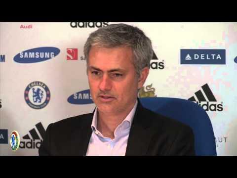 Jose Mourinho on Samuel Eto'o  goal celebration