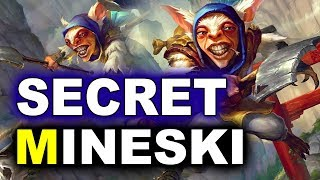 SECRET vs MINESKI - WILD MEEPO APPEARS! - MDL MAJOR DOTA 2
