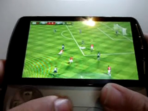 FIFA12 XPERIA PLAY GamePLAY
