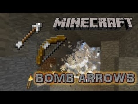 Explosive Arrows and Targets in Vanilla Minecraft