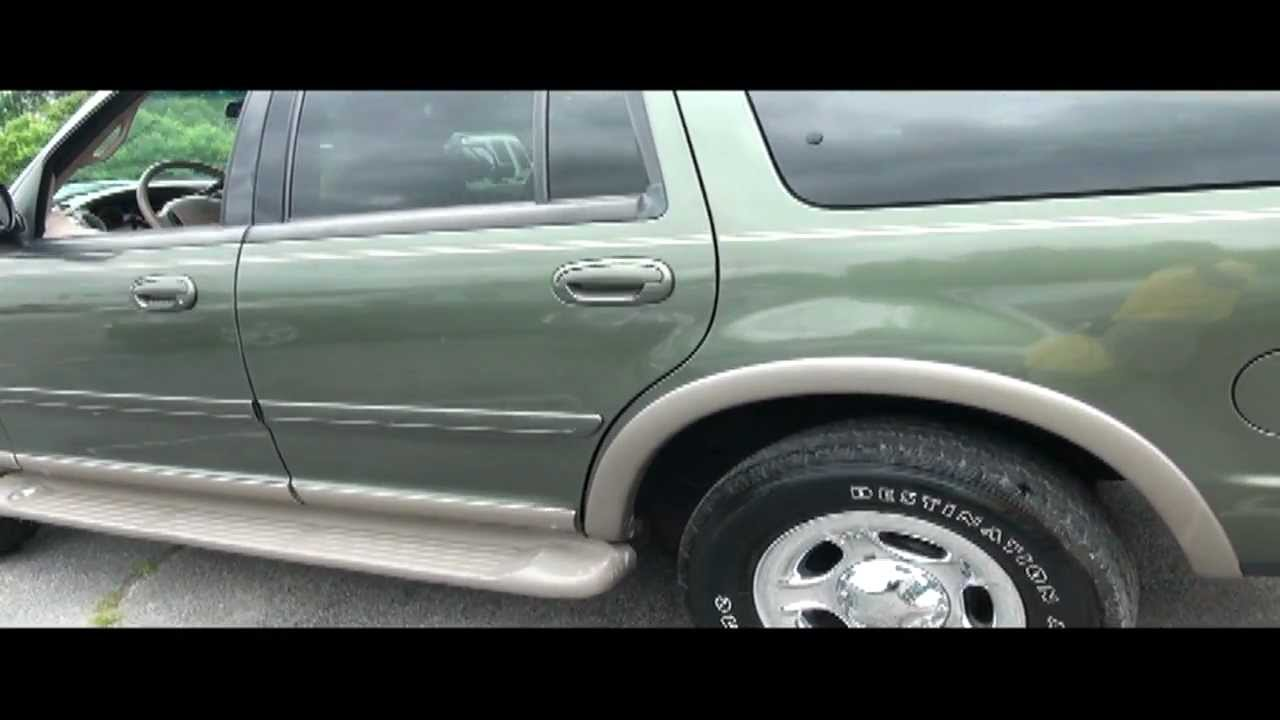 2000 Ford Expedition Eddie Bauer Triton V8 4wd Youtube