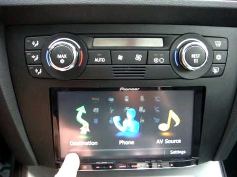 Pioneer Avic Z110bt In My 09 Bmw 335i Coupe E92 Youtube