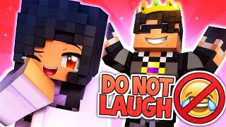 DO NOT LAUGH! - APHMAU TAKES ON THE KING