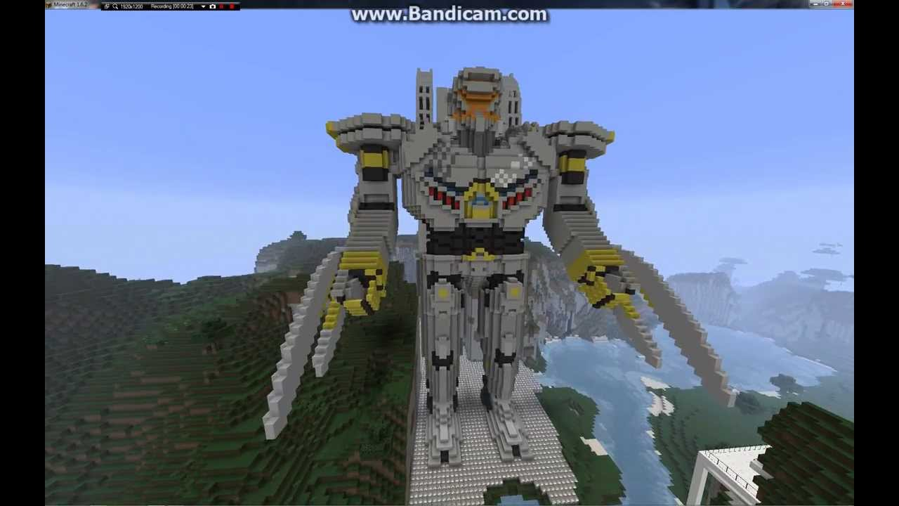 Minecraft Pacific Rim Striker Eureka - YouTube Pacific Rim 2013
