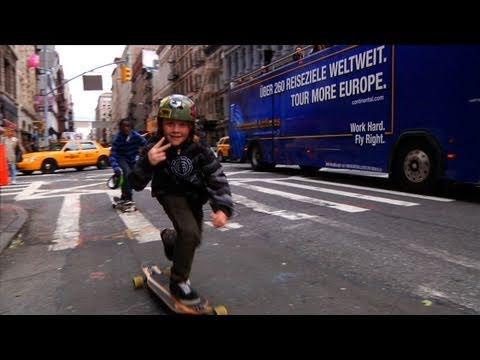 Longboarding NYC: Broadway Bomb 2010