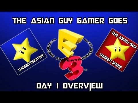 Day 1 - The Asian Guy Gamer goes to Electronic Entertainment Expo 2013 (E3) E3M13