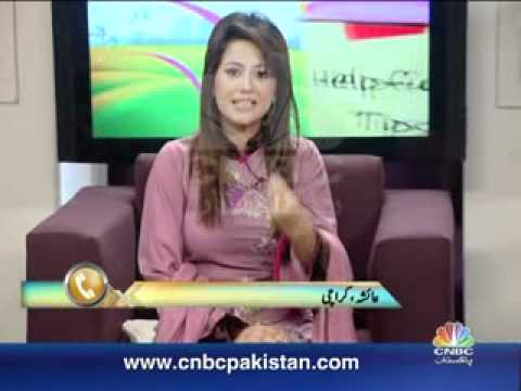 Naya Savaira CNBC Pakistan Morning show Host Sana Amjad Interview with ARSH THE BAND