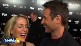 Gillian Anderson & David Duchovny - I put a spell on you
