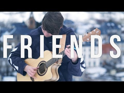 Marshmello & Anne-Marie - FRIENDS - Fingerstyle Guitar Cover *OFFICIAL FRIENDZONE ANTHEM* #1