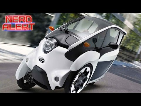 Would You Drive Toyota's Tiny New 3-Wheeled Electric Car?