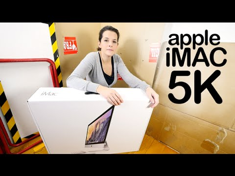 Apple iMac Retina 5K unboxing review en español