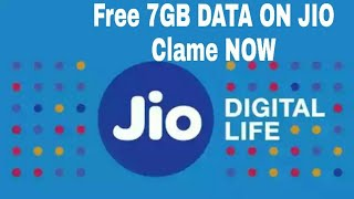 Free 7GB DATA on your MY JIO APP CLAME NOW....✌✌✌✌✌✌