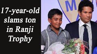 Prithvi Shaw hits century in Ranji Trophy, Joins Sachin Tendulkar's record  | Oneindia News