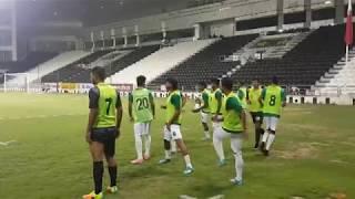 কাতারে বাংলাদেশ বনাম ফুটবল ম্যাচ