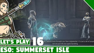 Dailies and Traitor's Vault #16 Let's Play Elder Scrolls Online Summerset Isle!