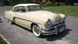 1954 Pontiac Eight For Sale~Straight 8~Automatic~Very Original Classic Coupe