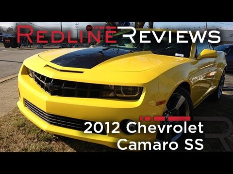 2012 Chevrolet Camaro SS Review. Walkaround. Exhaust. Test Drive