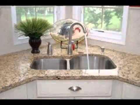 Corner Kitchen Sink In Island