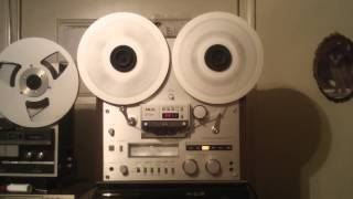 AKAI GX 625 Reel to Reel Tape Deck. Completely gone thru, Cleaned Lubed Adju. Nice Deck. ZCUCKOO