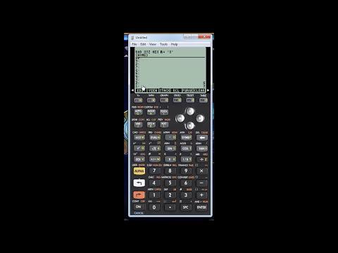 Crear programas Hp 50g tutorial 1