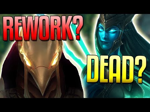 DEATH OF LEAGUE CHAMPS? Azir & Kalista Reworks Coming! - League of Legends