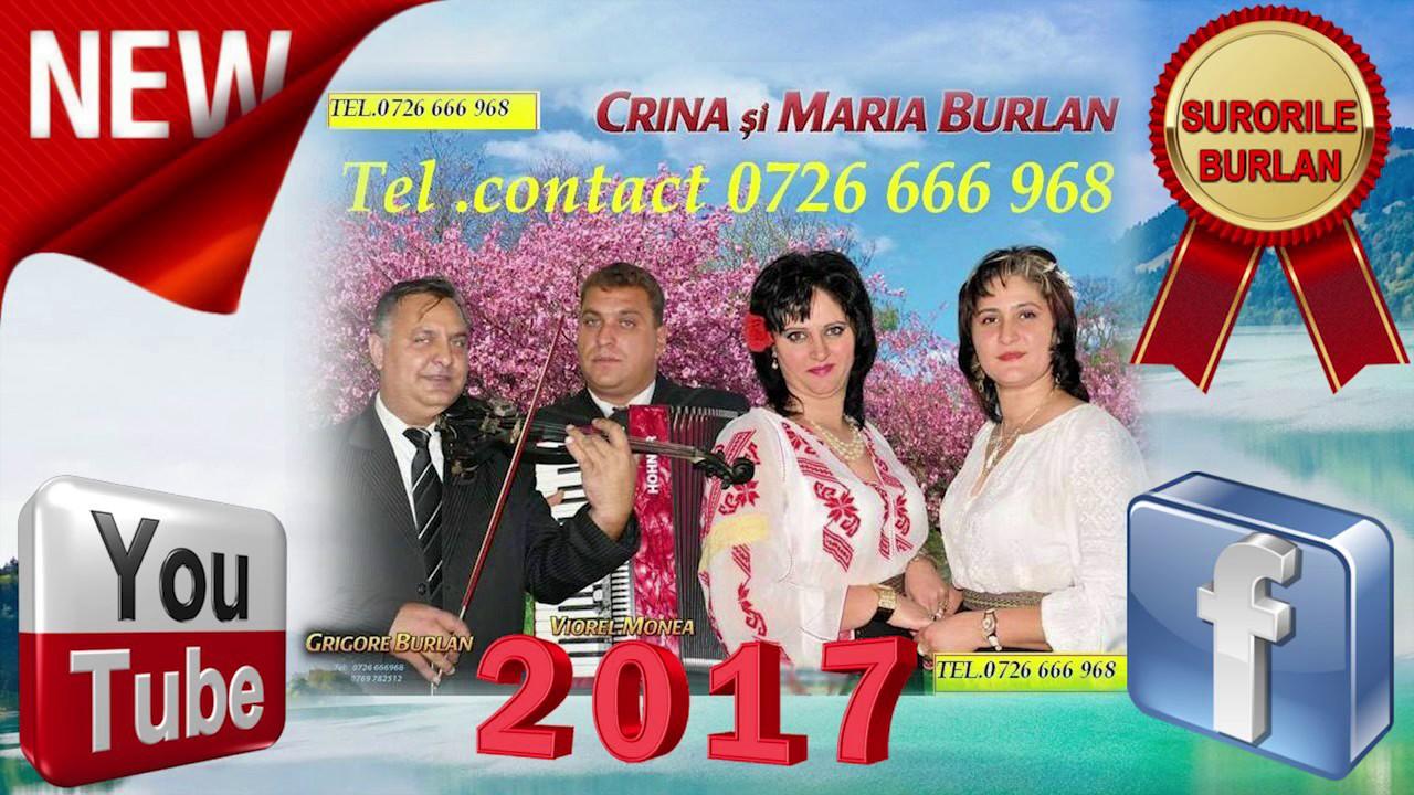 SURORILE BURLAN 1 -NOU 2017- COLAJ ASCULTARI, HORE, SARBE SI MUZICA DE PETRECERE SI VOIE BUNA,