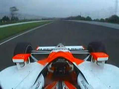 Helio Castroneves - INDY 500 - 2007 - Close Call Video