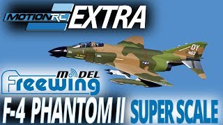 Freewing F-4 Phantom II 90mm Super Scale EDF Jet - Motion RC Announcement.