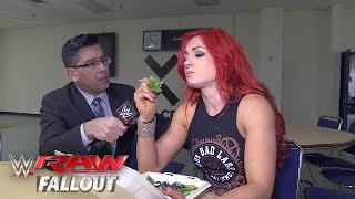Becky Lynch refuses to let Emma ruin her meal: Raw Fallout, April 25, 2016