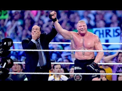 Wrestlemania 30 Undertaker Vs Brock Lesnar Full Match video